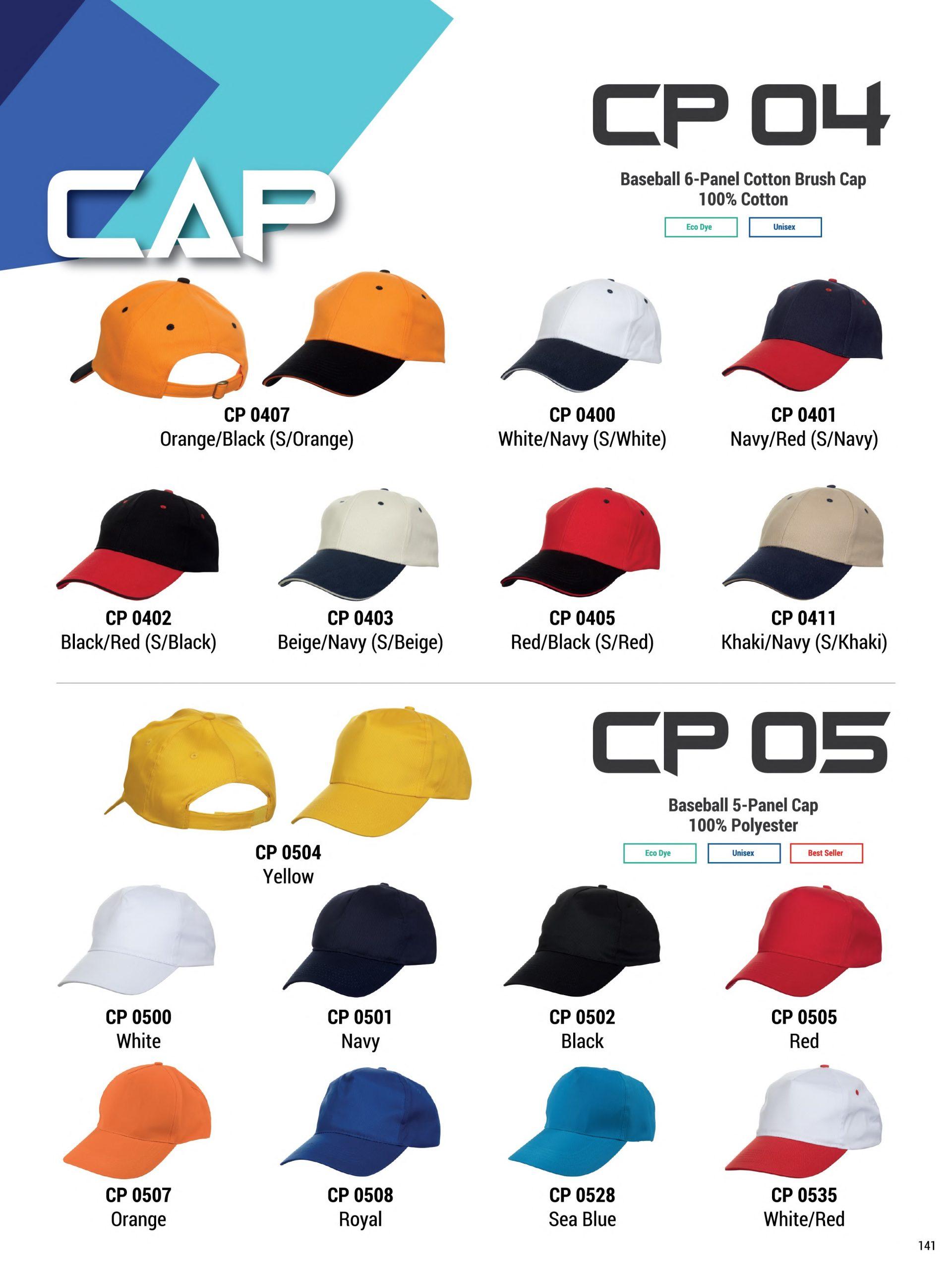 Caps - corporate gift Singapore