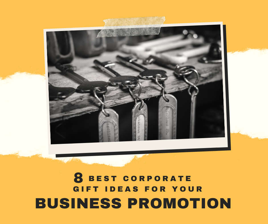7 Corporate Gift Ideas for Your Business Promotion